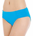 Pearl Solids Pleated Hipster Swim Bottom Image