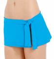 Pearl Solids Skirted Hipster Swim Bottom Image