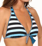 Bermuda's Lost Stripes Reversible Halter Swim Top