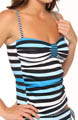 Bermuda's Lost Stripes Tankini Swim Top Image