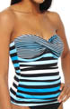 Bermuda's Lost Stripes Twist Bandini Swim Top Image