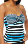 Bermuda's Lost Stripes Twist Bandini Swim Top