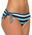 Bermuda's Lost Stripes Tie Side Swim Bottom Image
