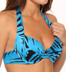Tortola Leaf Underwire Foam Cup Swim Top
