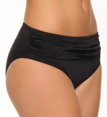 Pearl Solids High Waist Sash Swim Bottom