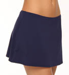 Pearl Solids Pull On Swim Skirt