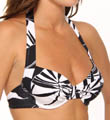 Palm Underwire Foam Cup Swim Bra Top Image