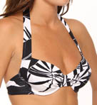 Palm Underwire Foam Cup Swim Bra Top