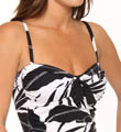 Tommy Bahama Palm Layered Over The Shoulder Tankini Swim Top TSW73703T