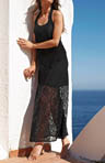 Lace Long Tank Dress