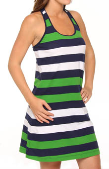 Rugby Stripe Short Tank Dress