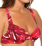 Tommy Bahama Big Red Hawaii Full Coverage Foam Cup Swim Top TSW75301T
