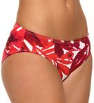 Tommy Bahama Big Red Hawaii High Waist Classic Swim Bottom TSW75307B