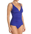 Tommy Bahama Pearl Solids V-Neck One Piece Swimsuit TSW81020P