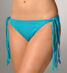 Pearl Solids Hipster Swim Bottom with Side Ties