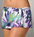 Starlight Palm Skirted Hipster Swim Bottom