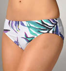 Starlight Palm High Waist Classic Swim Bottom