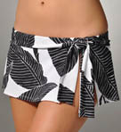 Banana Leaf Skirted Hipster Swim Bottom