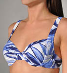 Spanish Palm Underwire Full Coverage Swim Top