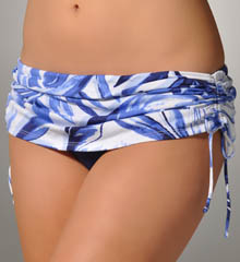 Spanish Palm Skirted Hipster Swim Bottom