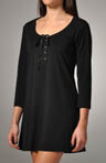 Tommy Bahama Knit Covers V-Neck Tunic with Lace-Up Front TSW85507C