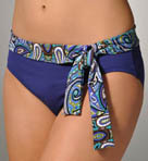 Tommy Bahama Seville Paisley High Waist Sash Swim Bottom TSW85605B