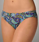 Seville Paisley Side Shirred Hipster Swim Bottom