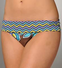 Isla Floral Hipster w/ Wide Band Swim Bottom