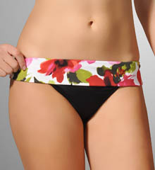 Rainforest Hipster with Wide Band Swim Bottom