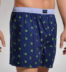 Four Leaf Woven Boxer