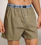Sunny Plaid Woven Boxer