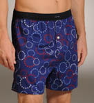 Stars and Circles Woven Boxer