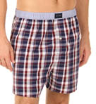 Tommy Hilfiger Plaid Woven Boxer 09T0139