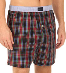 Winter Tartan Woven Boxer