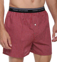Red Plaid Boxer