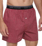 Tommy Hilfiger Red Plaid Boxer 09T0156