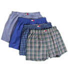 Tommy Hilfiger 4 Pack Woven Boxer 09T0292