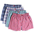 Tommy Hilfiger 4 Pack Woven Boxer 09T0295