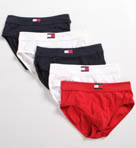 Tommy Hilfiger 5 Pack Hip Briefs 09T0329