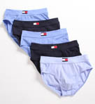 Tommy Hilfiger 5 Pack Hip Briefs 09T0330