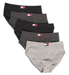 Tommy Hilfiger 5 Pack Hip Briefs 09T0407