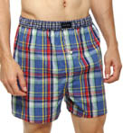 Tommy Hilfiger Plaid Woven Boxer 09T0410