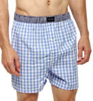 Tommy Hilfiger Plaid Woven Boxer 09T0416