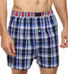 Tommy Hilfiger Plaid Woven Boxer 09T0421