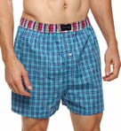 Tommy Hilfiger Plaid Woven Boxer 09T0422