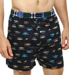 Fish Woven Boxer