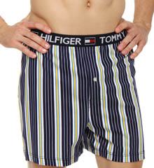 Striped Knit Boxer