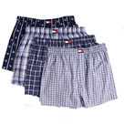Tommy Hilfiger 4 Pack Woven Boxer 09T0501