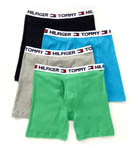 Basic Logo Boxer Briefs - 4 Pack