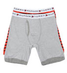 Tommy Hilfiger Striped and Solid Boxer Briefs - 2 Pack 09T0700